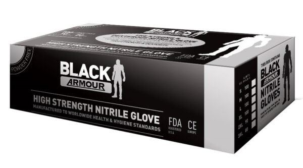 Armour Safety Products Ltd. - Black Armour Nitrile Disposable Glove