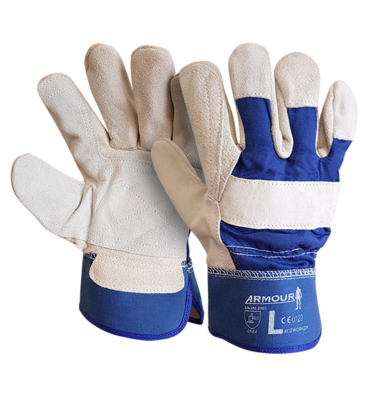 Armour Safety Products Ltd. - Armour Leather Work Tough Double Palm Glove