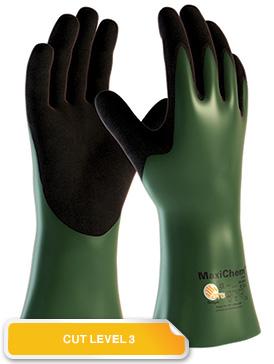Armour Safety Products Ltd. - Maxichem Cut 3 Gauntlet 33cm